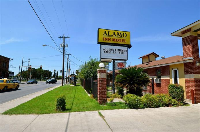 alamo inn motel san antonio compare deals. Black Bedroom Furniture Sets. Home Design Ideas