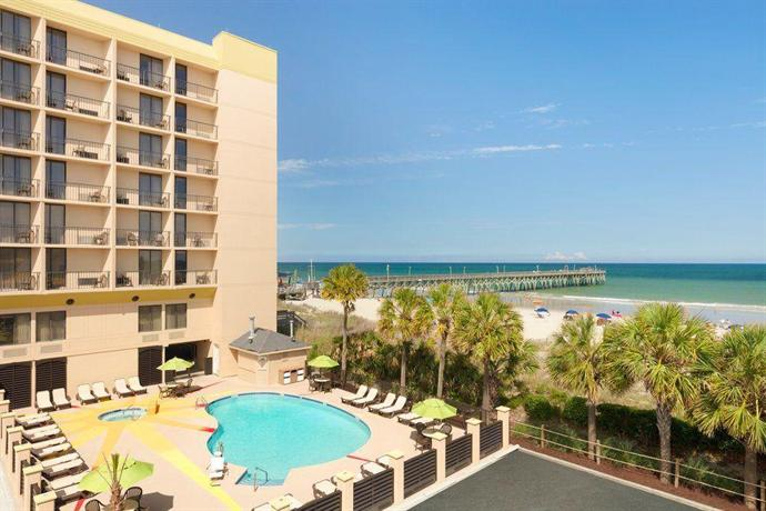 About Surfside Beach Oceanfront Hotel