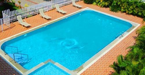 Seagate church view resorts velankanni compare deals for Hotels in velankanni with swimming pool