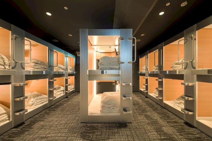 New Japan Capsule Hotel Cabana Male Only