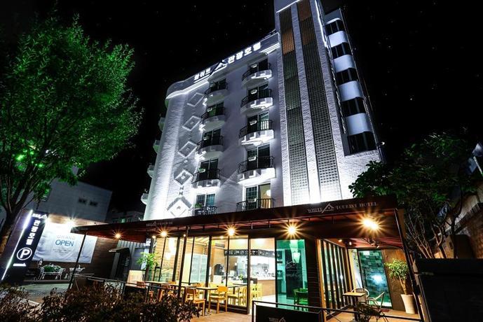 White Tourist Hotel Jeonju