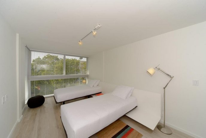 About Beach Haus Key Biscayne Contemporary Apartments