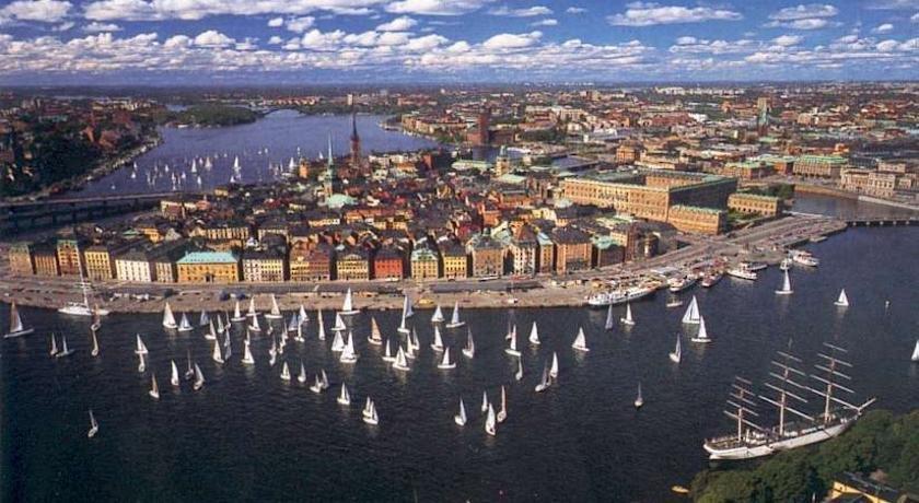 Stockholm Checkin Apartments Gärdet