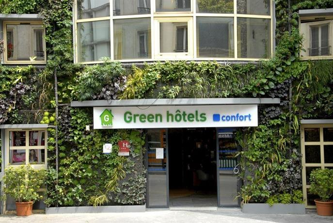 Green Hotel Paris France  Rue De Patay