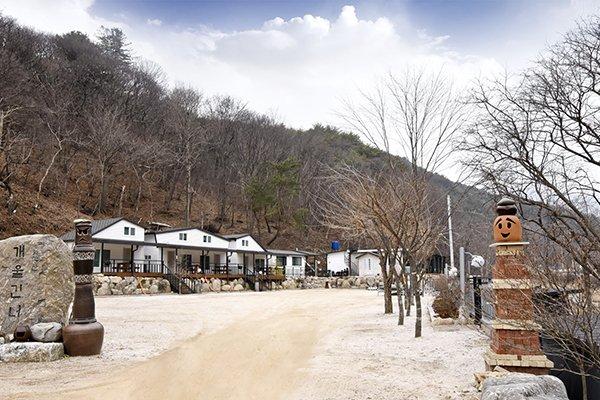 Gapyeong Hwaaksan acrossvalley Pension