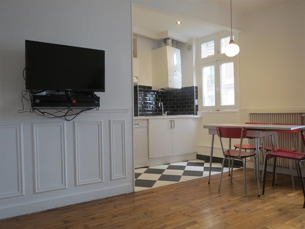 Appartement 5 personnes sacre coeur for Appart hotel amsterdam 5 personnes