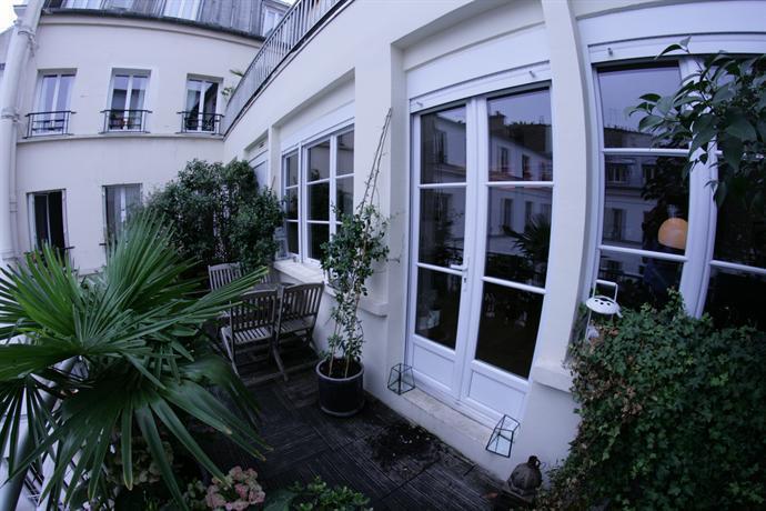 Loft de charme lumineux avec terrasse arboree paris for Loft avec terrasse paris