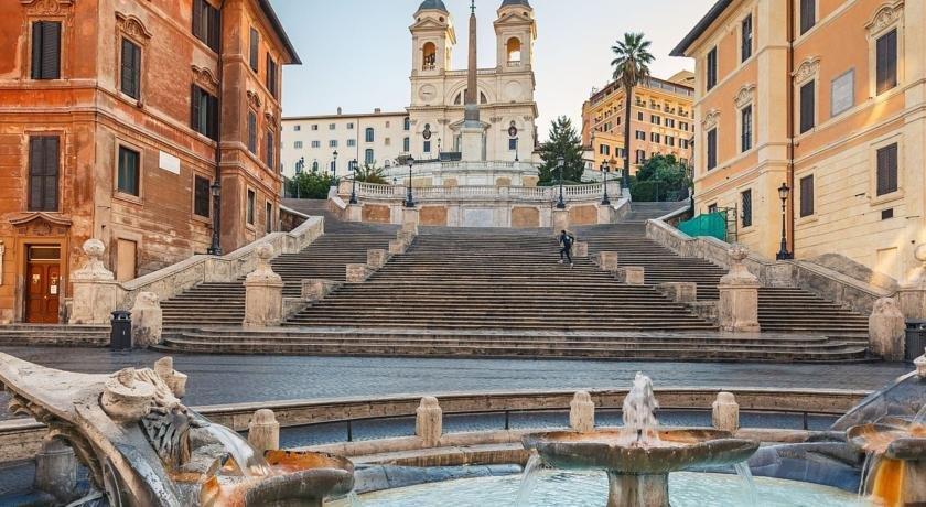Babuino deluxe rome compare deals for Hotel via del babuino