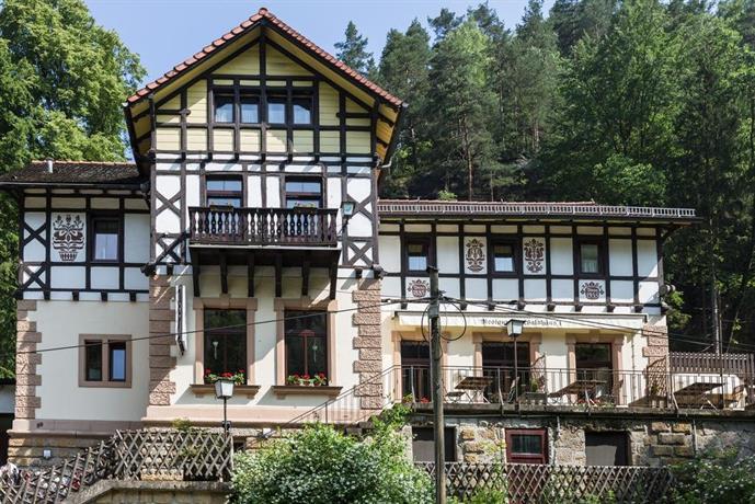Hotel Pension Waldhausl Bad Schandau