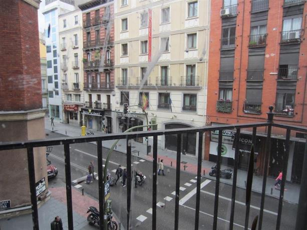 Calle San Bernardo Madrid Room