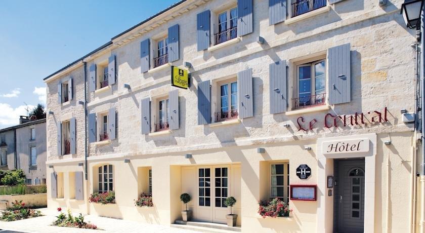 Hotel Restaurant Le Central Coulon