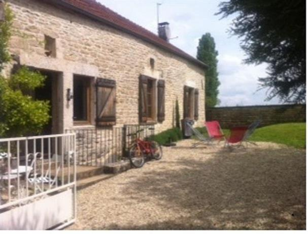 La maison d'Agnes en Haute Bourgogne