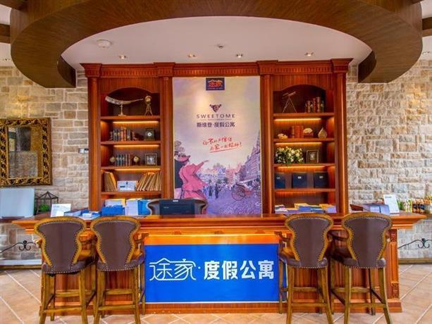 Huizhou sweetome vacation rentals confronta le offerte for Cabin cabin in wisconsin dells con piscina all aperto