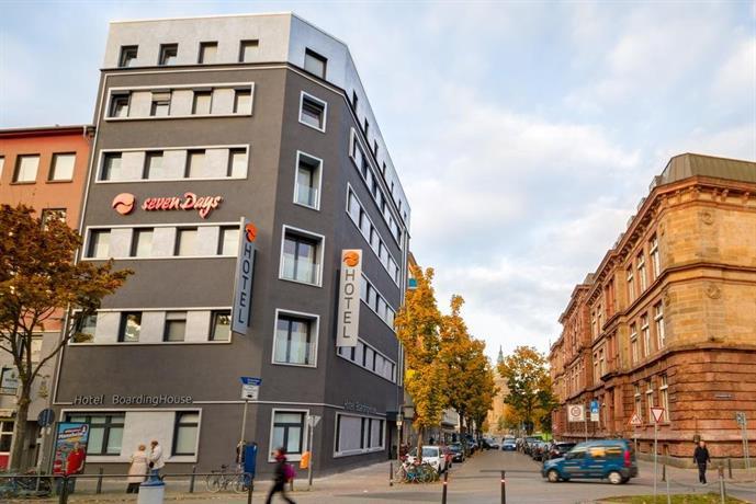 sevendays hotel boardinghouse mannheim comparer les offres. Black Bedroom Furniture Sets. Home Design Ideas