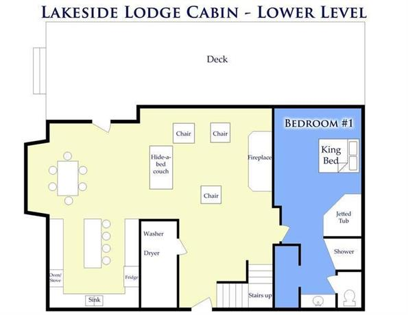 Lakeside Lodge Cabins at Garden City