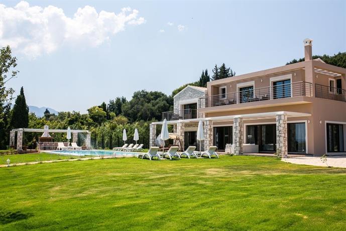 Villa Victoria Roda Corfu Island