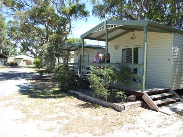 About Beachside Caravan Park Cabins Normanville