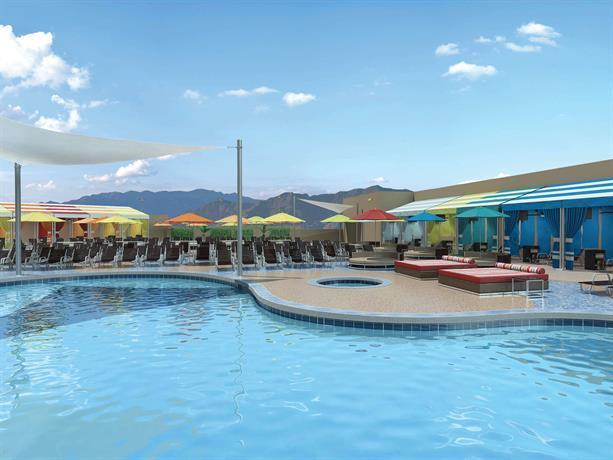 Stratosphere hotel casino tower best western premier for Western pool show 2015