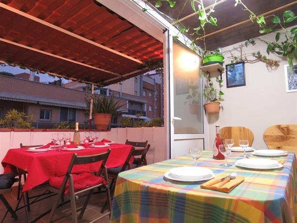 Atico Terraza Barbacoa Park Guell Apartamento Barcelona