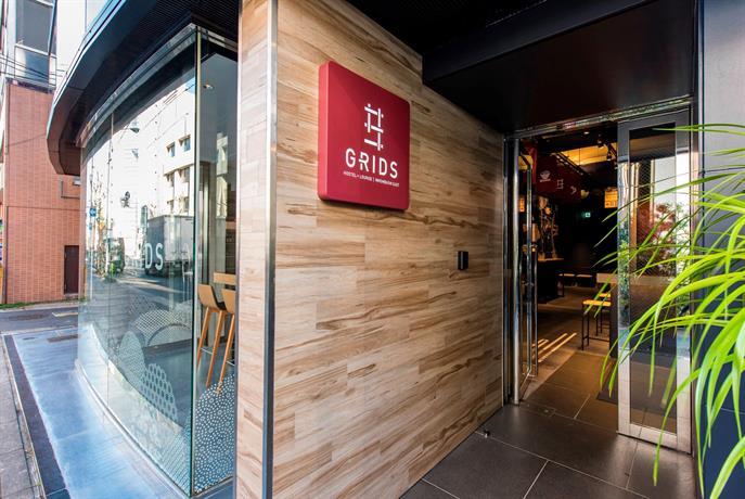 Grids Hostel Lounge Nihombashi East