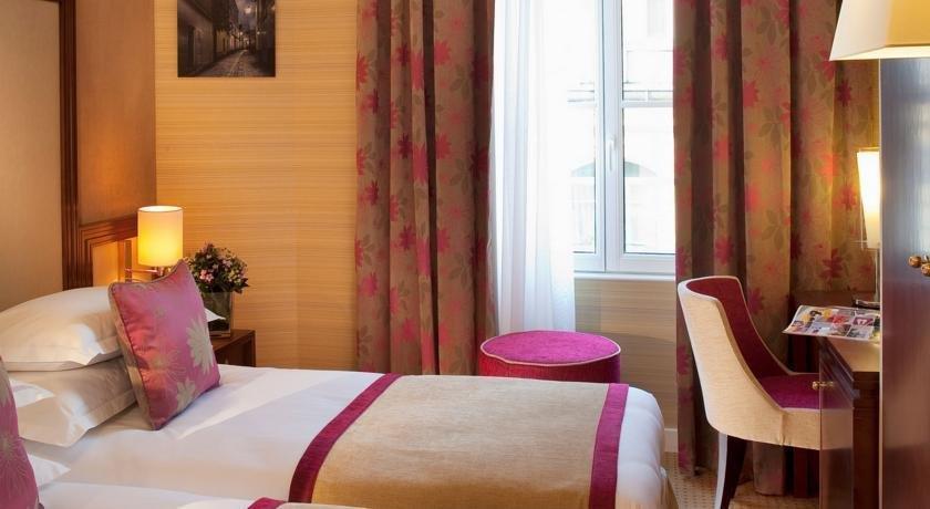 hotel saint honore paris compare deals. Black Bedroom Furniture Sets. Home Design Ideas