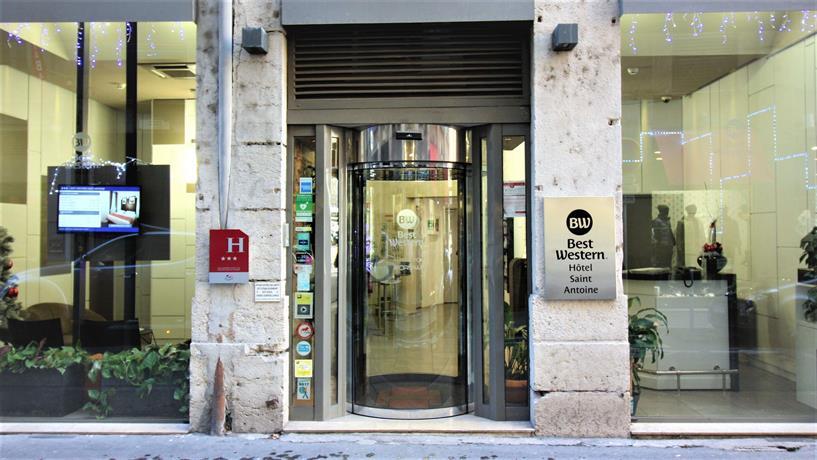 Best Western Saint Antoine Hotel Lyon