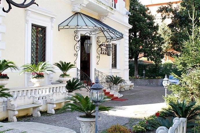 Hotel Villa Pinciana Via Abruzzi Roma