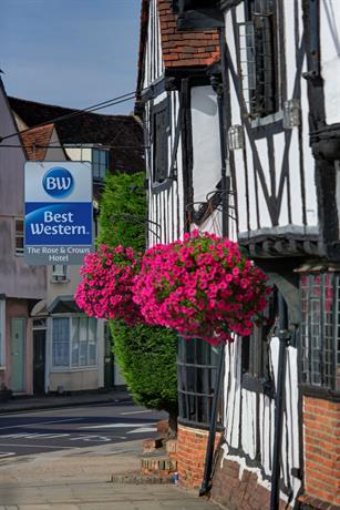 BEST WESTERN The Rose & Crown Colchester