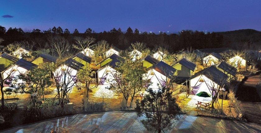 Jeju Camping Hotel Jeju Island