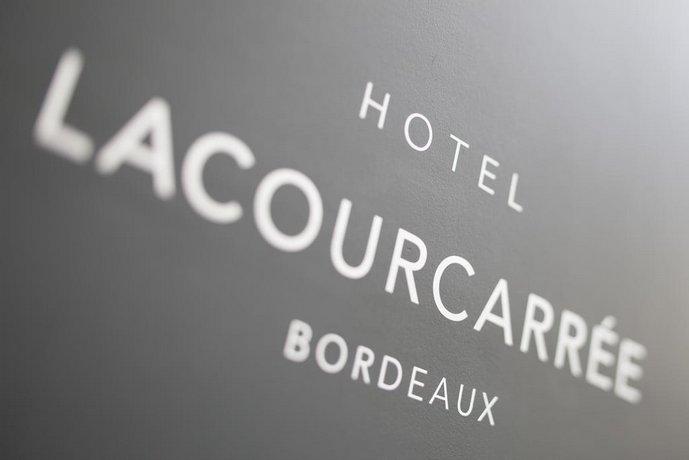 Hotel La Cour Carree Bordeaux