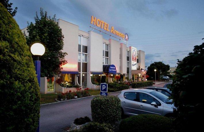 Hotel The Originals Dijon Sud Armony