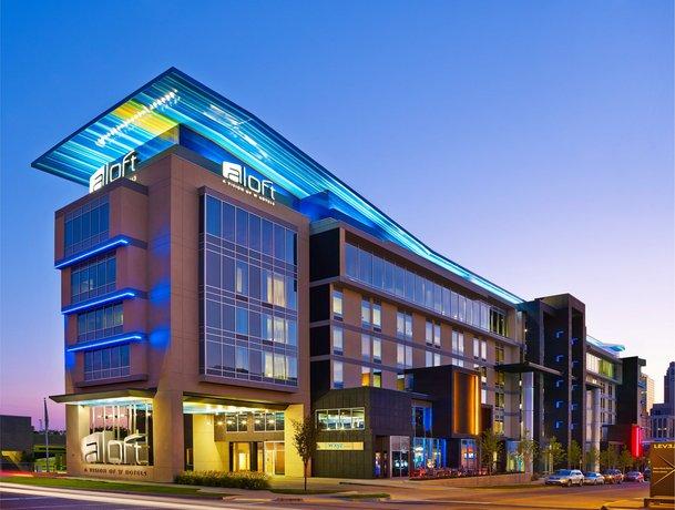 Aloft Oklahoma City Downtown - Bricktown