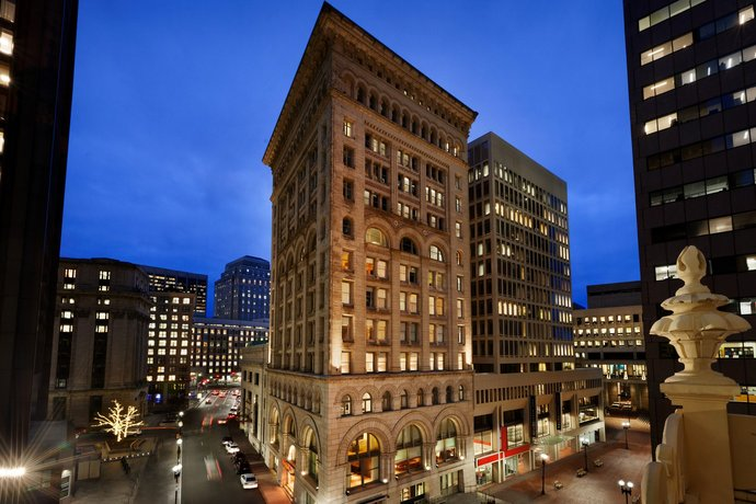 Ames Boston Hotel Curio Collection by Hilton