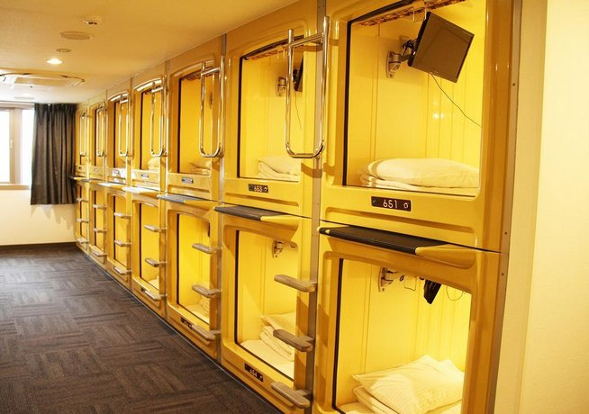 Capsule hotel and Sauna Kawasaki Big