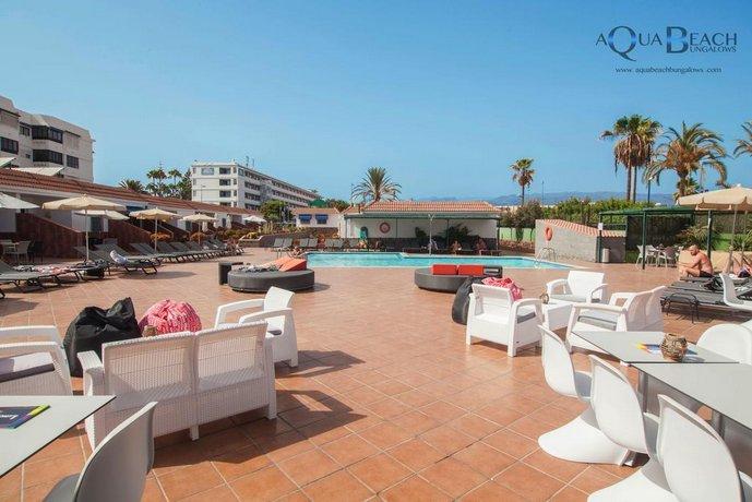 gay hotel aqua beach bungalows playa del ingles
