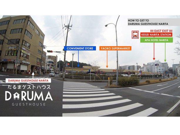 Daruma Guesthouse Narita