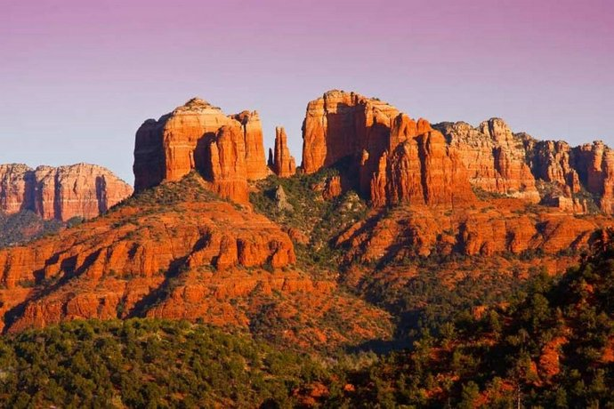 Serene Villa w/ red rock view in West Sedona