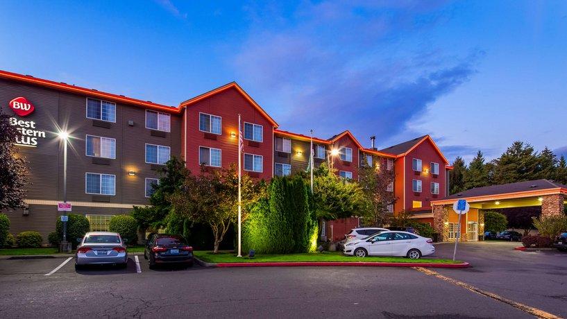 best western plus vancouver mall hotel compare deals. Black Bedroom Furniture Sets. Home Design Ideas