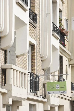 Hôtel Villa Sorel Boulogne-Billancourt