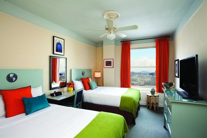 hotel carlton a joie de vivre hotel san francisco. Black Bedroom Furniture Sets. Home Design Ideas