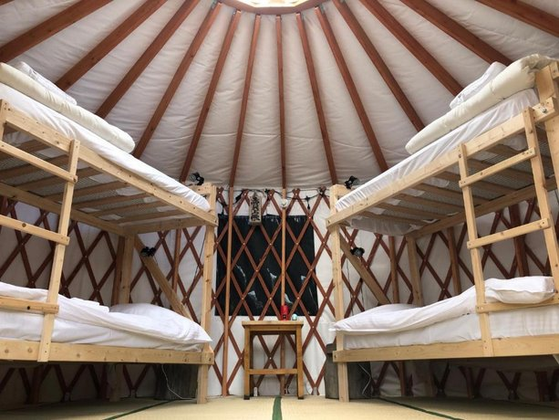 The Yurts at Hopi Hills Farm Kiroro