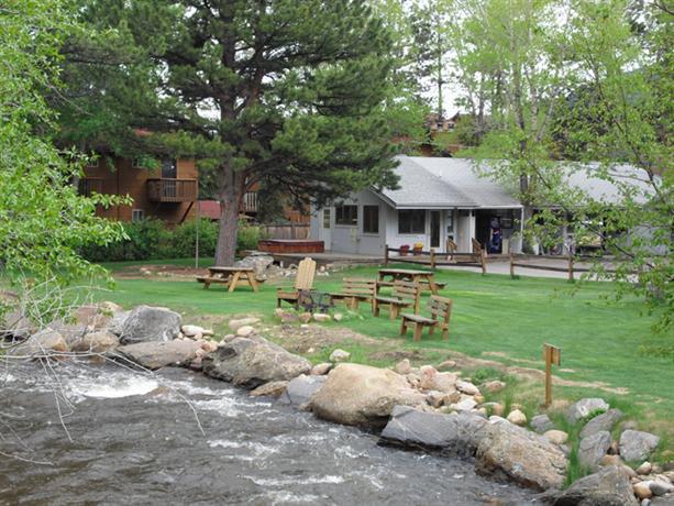 Riverview pines cabins estes park compare deals for Estes park lodging cabins