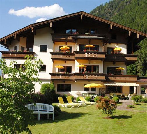 Hotel Garni Erler Mayrhofen