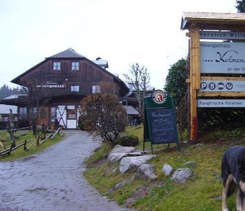 Hohengasthaus Kolmenhof