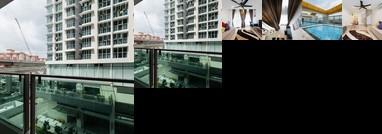 Duplex Apartment near LRT and Mall