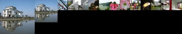 湖水映渡假民宿
